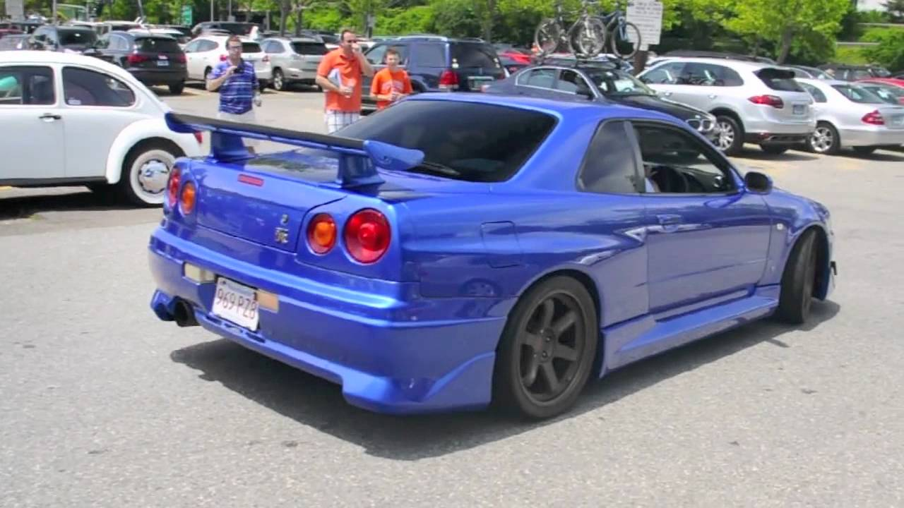 Nissan skyline in the us