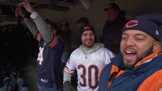 TRUBISKY PUTS ON A CLINIC @ SOLDIER FIELD! | Bears vs Lions Game Day Vlog