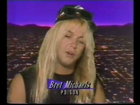 Brett Michaels - Interview 1988.