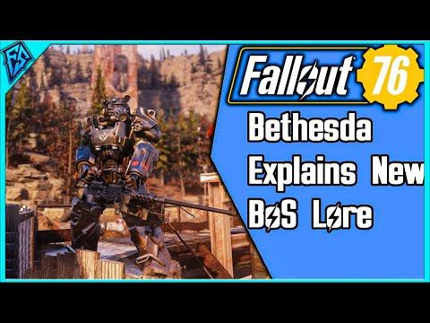 Fallout 76 - Bethesda Explains New Brotherhood of Steel Lore thumbnail