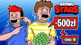 KAZAŁ MI KUPIĆ 2000 GEMÓW!  - BRAWL STARS /Gilathiss
