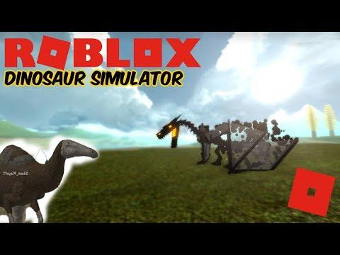 Roblox Dinosaur Simulator - The Dragon That Got Kosed + P.E Update