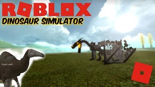 Roblox Dinosaur Simulator - The Dragon That Got Kosed + P.E Update