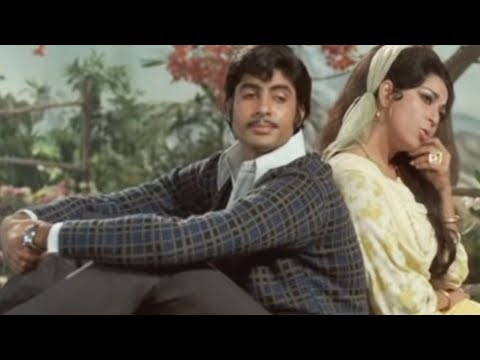 Amitabh Bachchan, Mala Sinha, Sanjog - Romantic Scene 3/28
