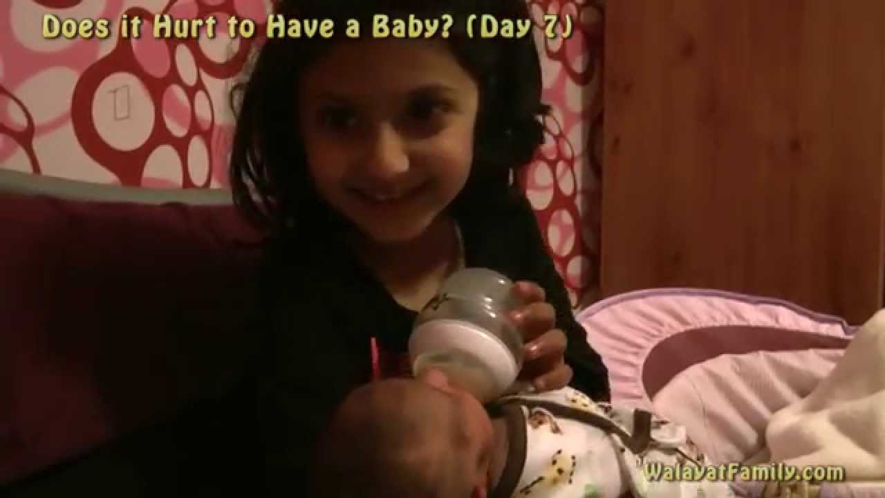 Does it hurt to give birth 19