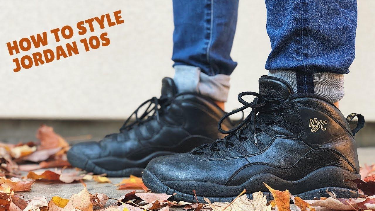 HOW TO STYLE: Nike Air Jordan 10s
