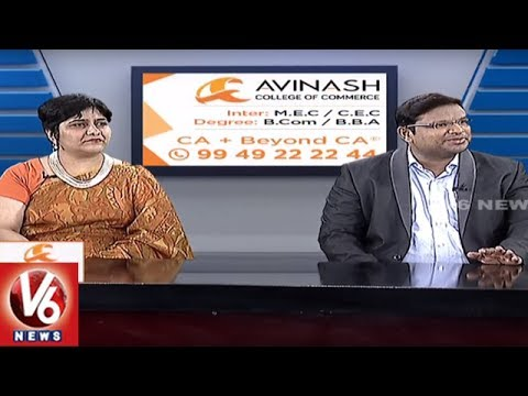 Career Point | Importance Of MEC And CEC Courses | Avinash College Of Commerce | V6 News