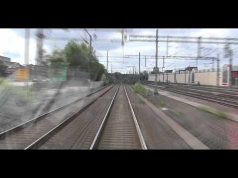 Spårvagn Linje 7 ( Tram line 7 in Gothenburg), hela turen på 14 minuter