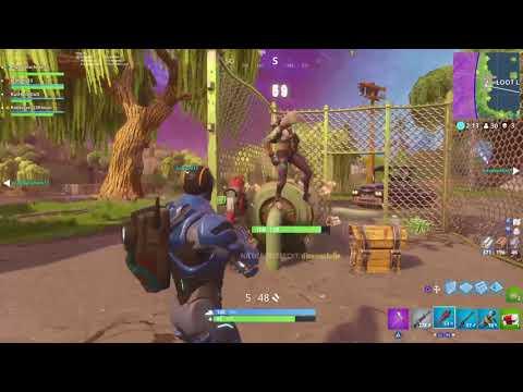 Fortnite Random Team Getting Carried Best Purple Dude