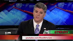 Fox News Hannity Bitchslapped by Atheist