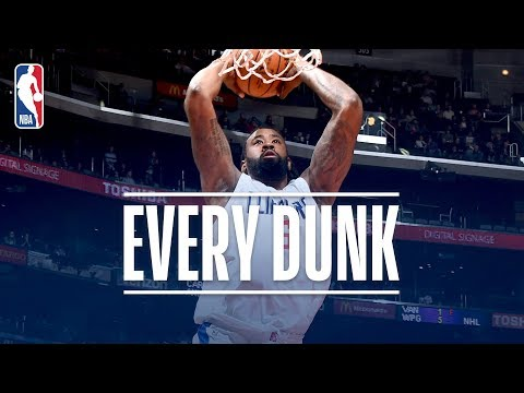 Russell Westbrook, DeAndre Jordan, and Every Dunk From Monday Night | December 11, 2017
