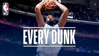 Russell Westbrook, DeAndre Jordan, and Every Dunk From Monday Night   December 11, 2017