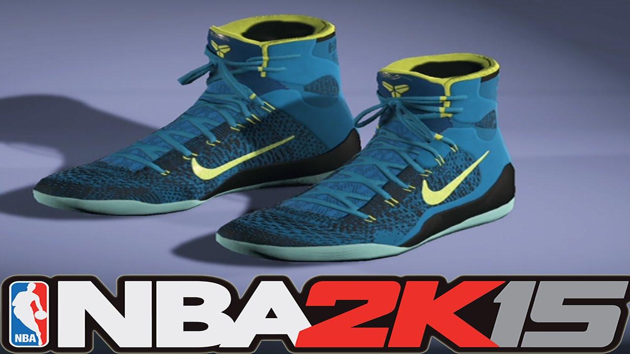 big sale bc443 f114f  NBA2K15 Next Gen Shoes - Nike Kobe 9 Elite Perspective - YouTube