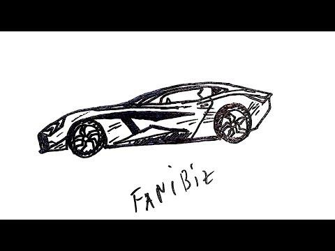 Как нарисовать МАЩИНУ Ручкой Поэтапно  Легко И Просто #2