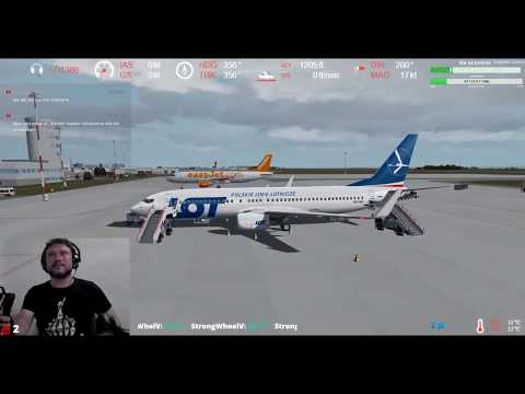 [P3Dv4ᴴᴰ] Rzeszów-Jasionka Airport (EPRZ) ⇒ Nice-Côte d'Azur Airport (LFMN) VATSIM