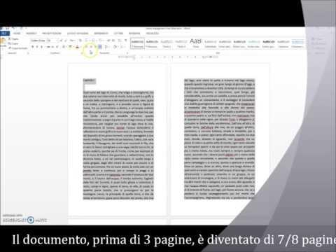 Video Tutorial: come Impaginare il proprio Libro con Word (versioni più recenti) prima della stampa