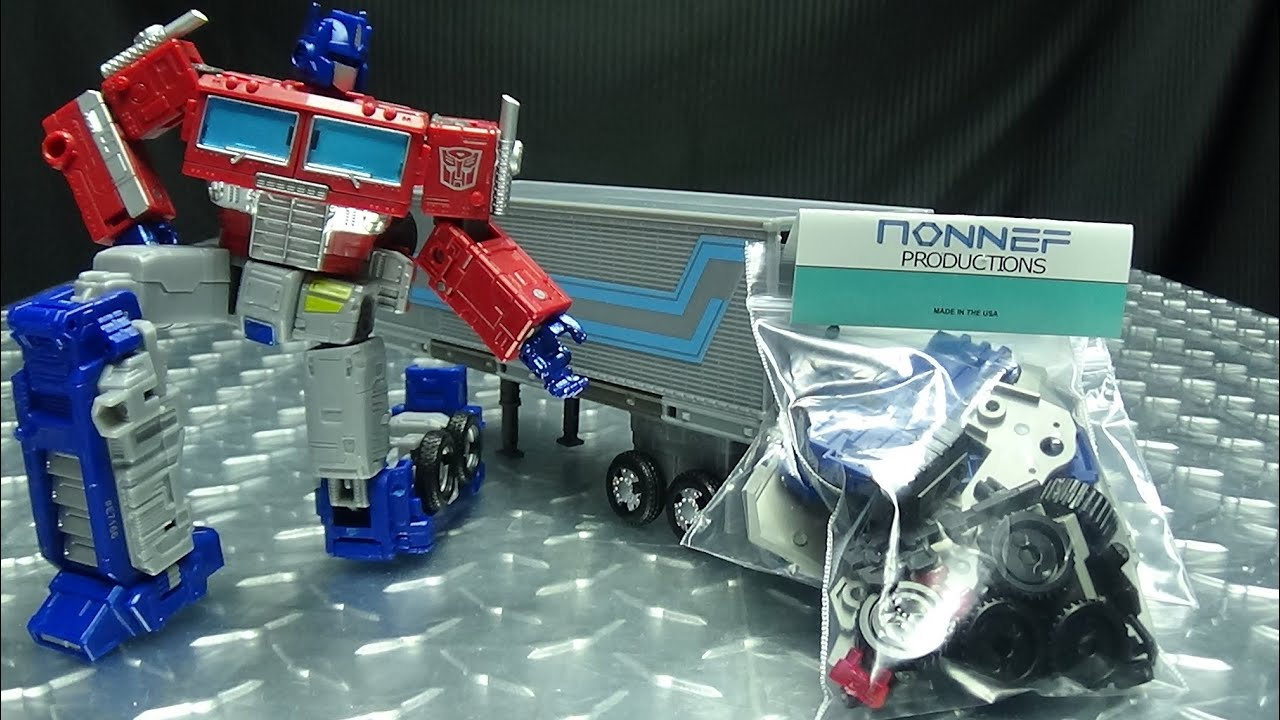 Download Nonnef Productions TRAILER UPGRADE for Earthrise Optimus Prime: EmGo's Transformers Reviews N' Stuff