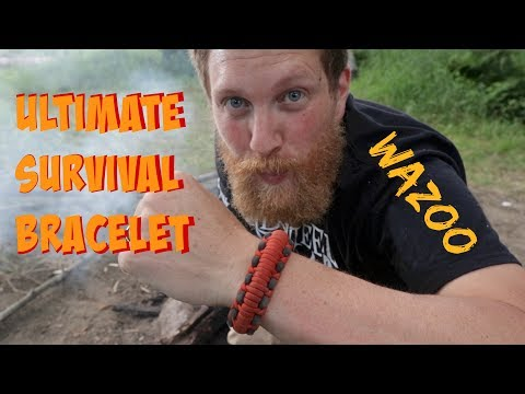 Wazoo Mountaineer™ Survival Kit Bracelet