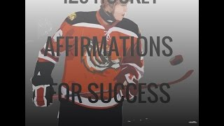 125 Hockey Success Affirmations.Positive Pre-Game Rapid Hypnosis for Hockey Players