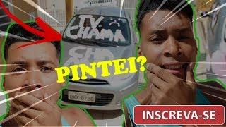 PINTEI O CARRO DA MINHA IRMÃ DE ROSA!  | TV CHAMINHA