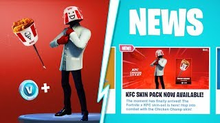 "How to Unlock ""NEW KFC SKIN PACK"" in Fortnite! New ""KFC SKIN BUNDLE"" Leaked! (New Free KFC Rewards)!"