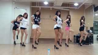 Repeat youtube video SISTAR 'Give It To Me' mirrored Dance Practice
