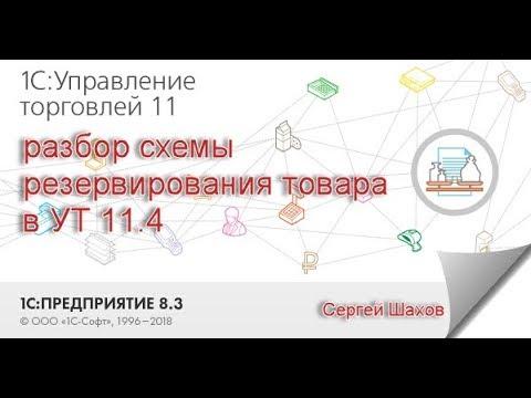 Разбор схемы резервирования товаров в 1С:Управление торговлей 11.4