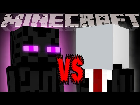 Enderman Vs Slenderman