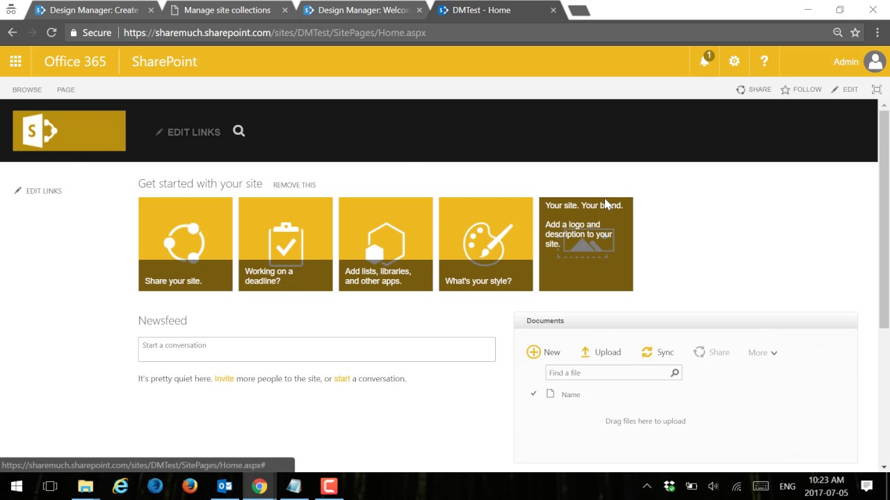 Latest How To Use SharePoint Online Design Manager To Package Your - Sharepoint design manager