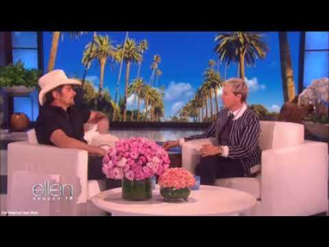 Brad Paisley & Ellen Make a Special Commitment to Help Santa Barbara & Montecito Recover