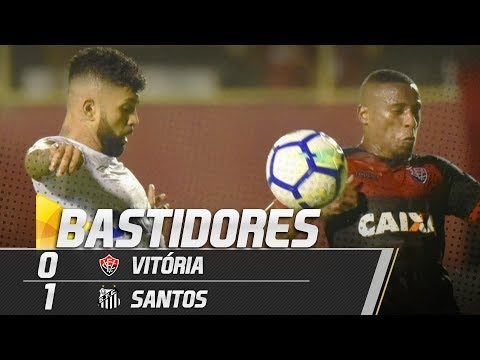 Vitória 0 x 1 Santos | BASTIDORES | Brasileirão (05/10/18)