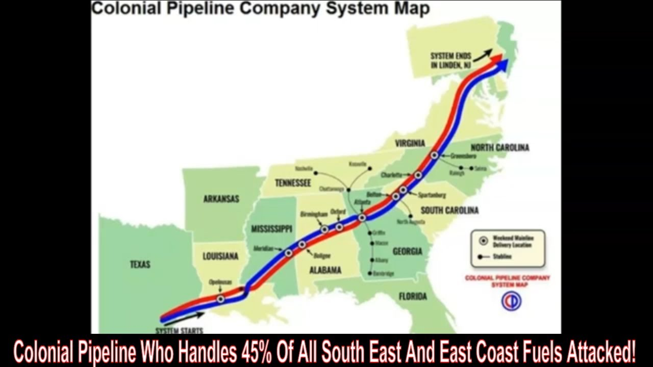 Download Gas Shortages In West And Now Colonial Pipeline Down? Coincidence?