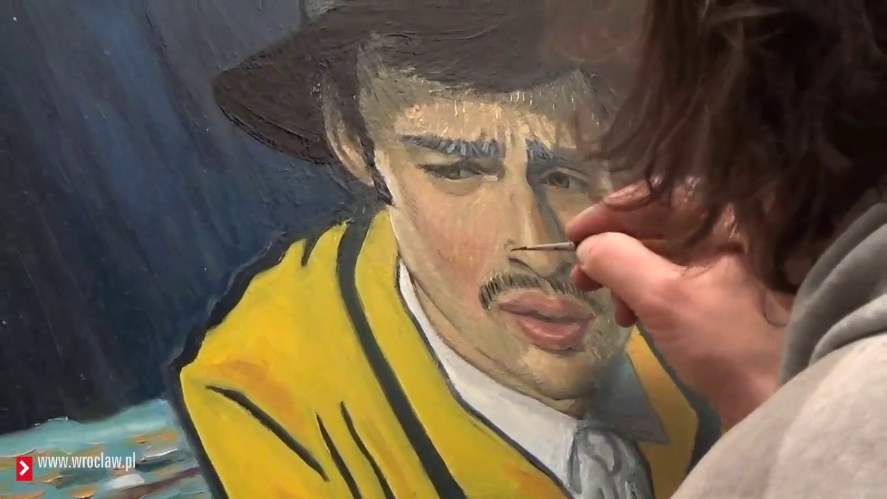 Loving Vincent Wroclaw Painter Training Youtube