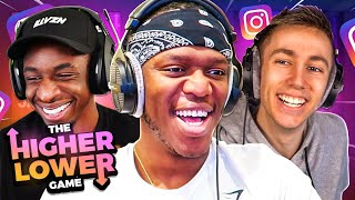SIDEMEN HIGHER OR LOWER (Instagram Followers)