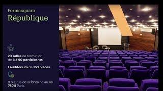 Location salle de formation Paris 11 - Formasquare République