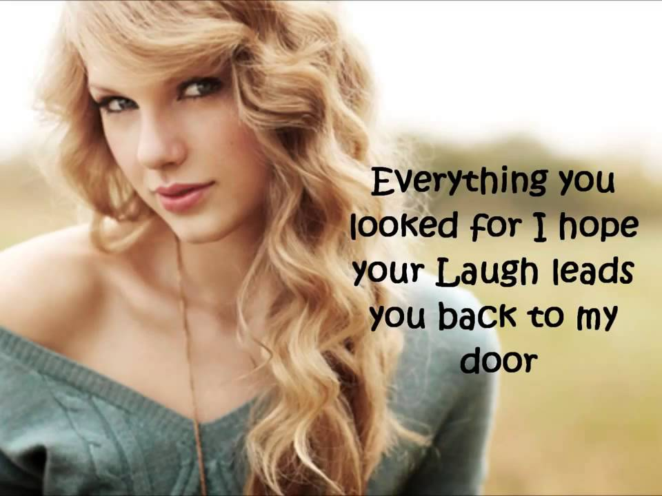 Stay Beautiful by Taylor Swift