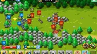 Kingdom Tactics - Android gameplay