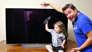 FAMILY MOVIE NIGHT WITH LG OLED TV