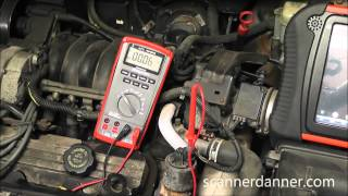 How to test an electronic EGR valve (GM P1406 case study)