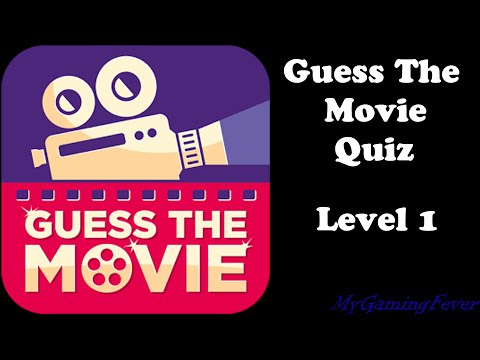 Guess The Movie Quiz - Level 1 Answers