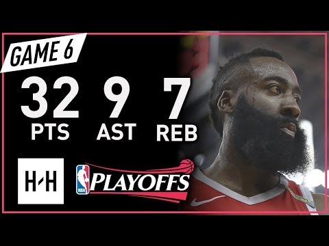 James Harden Full Game 6 Highlights vs Warriors 2018 NBA Playoffs WCF - 32 Pts, 9 Ast, 7 Reb!