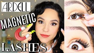 Ardell Magnetic Eyelashes TESTED | Review + Demo