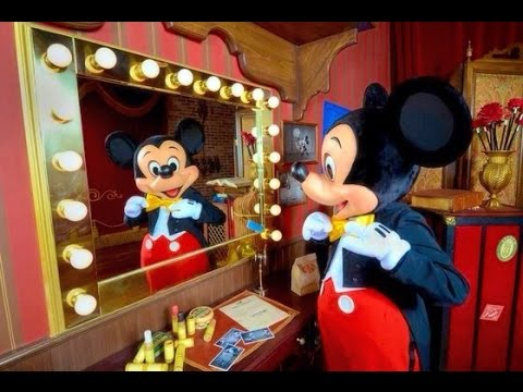 Meeting Mickey Mouse At Disneyworld Florida (starstruck Two Year Old Fan)