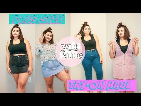 PLUS SIZE TARGET WILD FABLE TRY ON HAUL