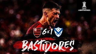 Flamengo 6 x 1 San José - Bastidores