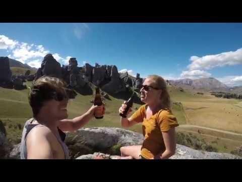 Travel through New Zealand