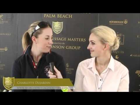 Charlotte dujardin interview at olympia doovi for Dujardin interview
