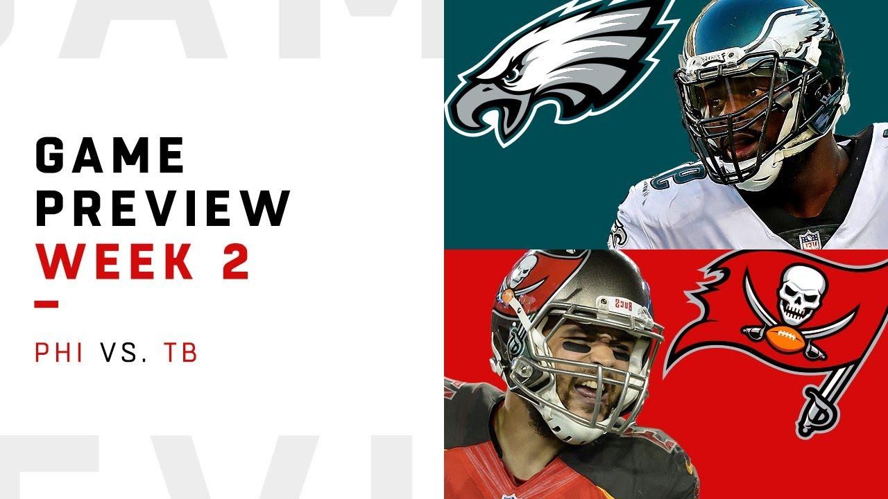 Philadelphia Eagles vs. Tampa Bay Buccaneers | Week 2 Game ...