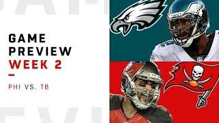Philadelphia Eagles vs. Tampa Bay Buccaneers | Week 2 Game Preview | NFL Playbook