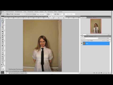 Урок Adobe Photoshop #58 | Фото на документы